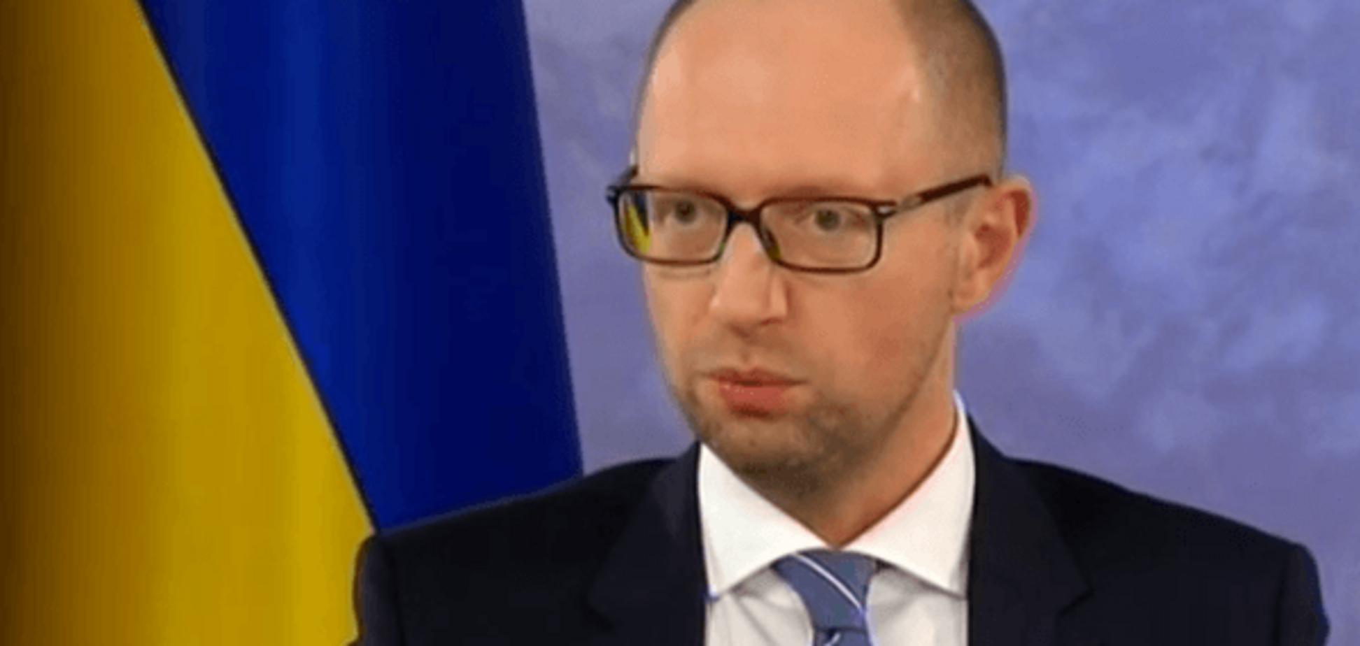 Яценюк рассказал о состоянии дел с возвращением Крыма