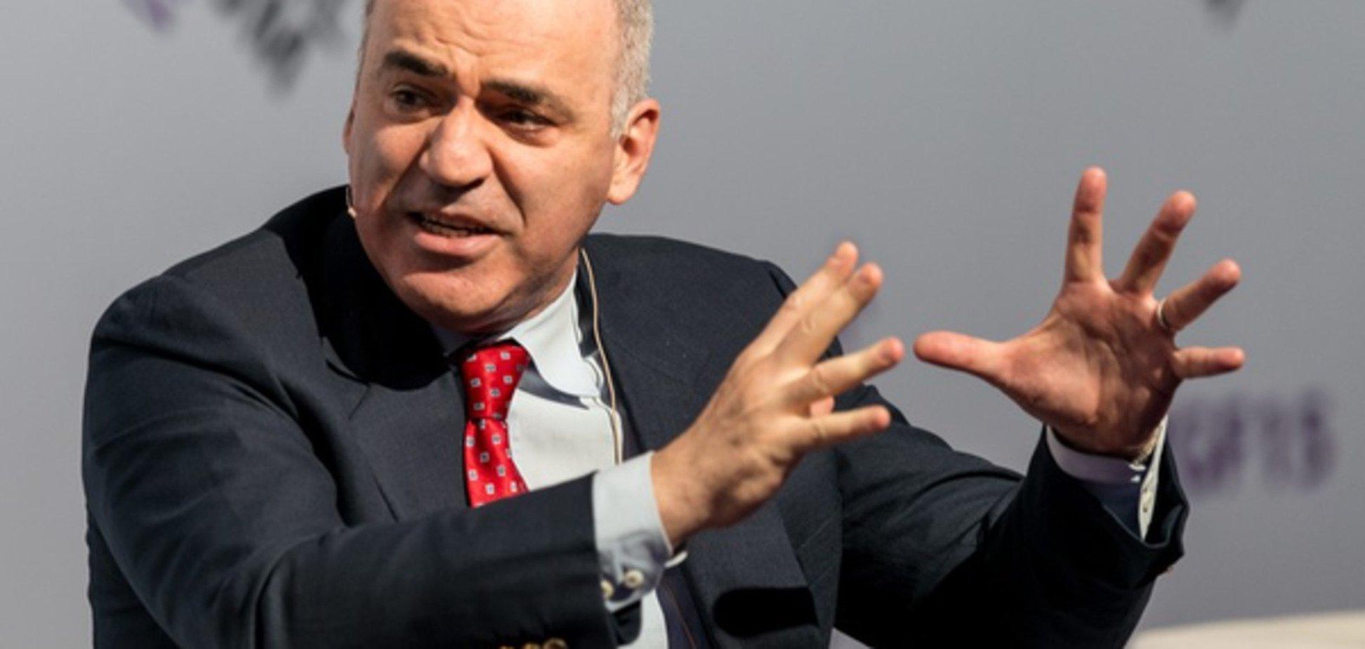 Гарри Каспаров: 'Колоссальные проблемы Европы могут стать неразрешимыми'