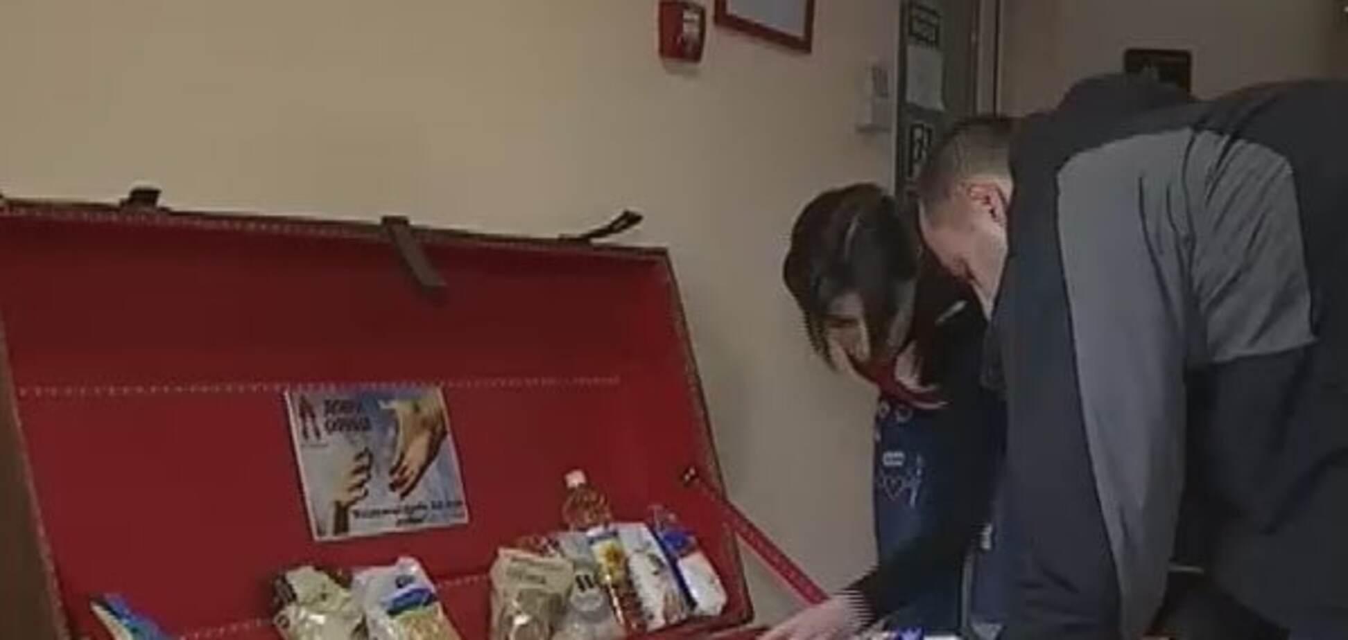Скриня-самобранка: в супермаркеті Львова можна взяти продукти безкоштовно