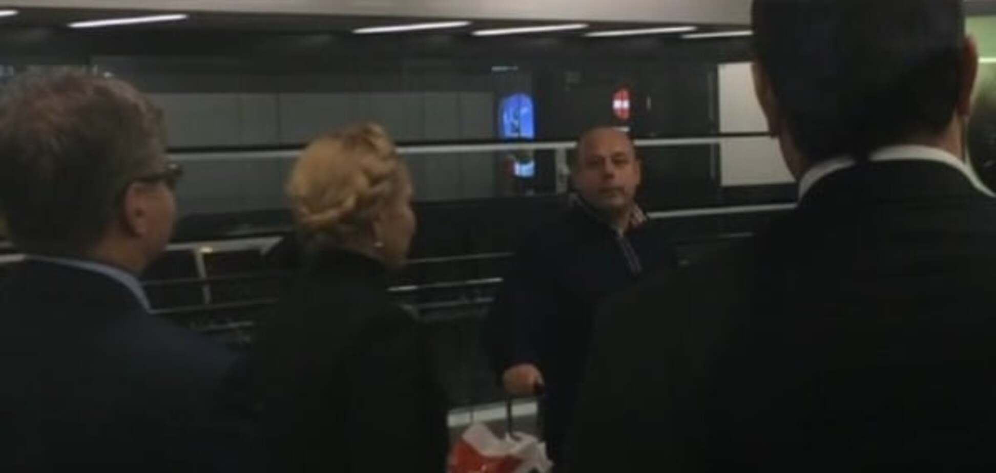 Тимошенко засекли в аэропорту Вены в компании экс-министра Продана: опубликовано видео