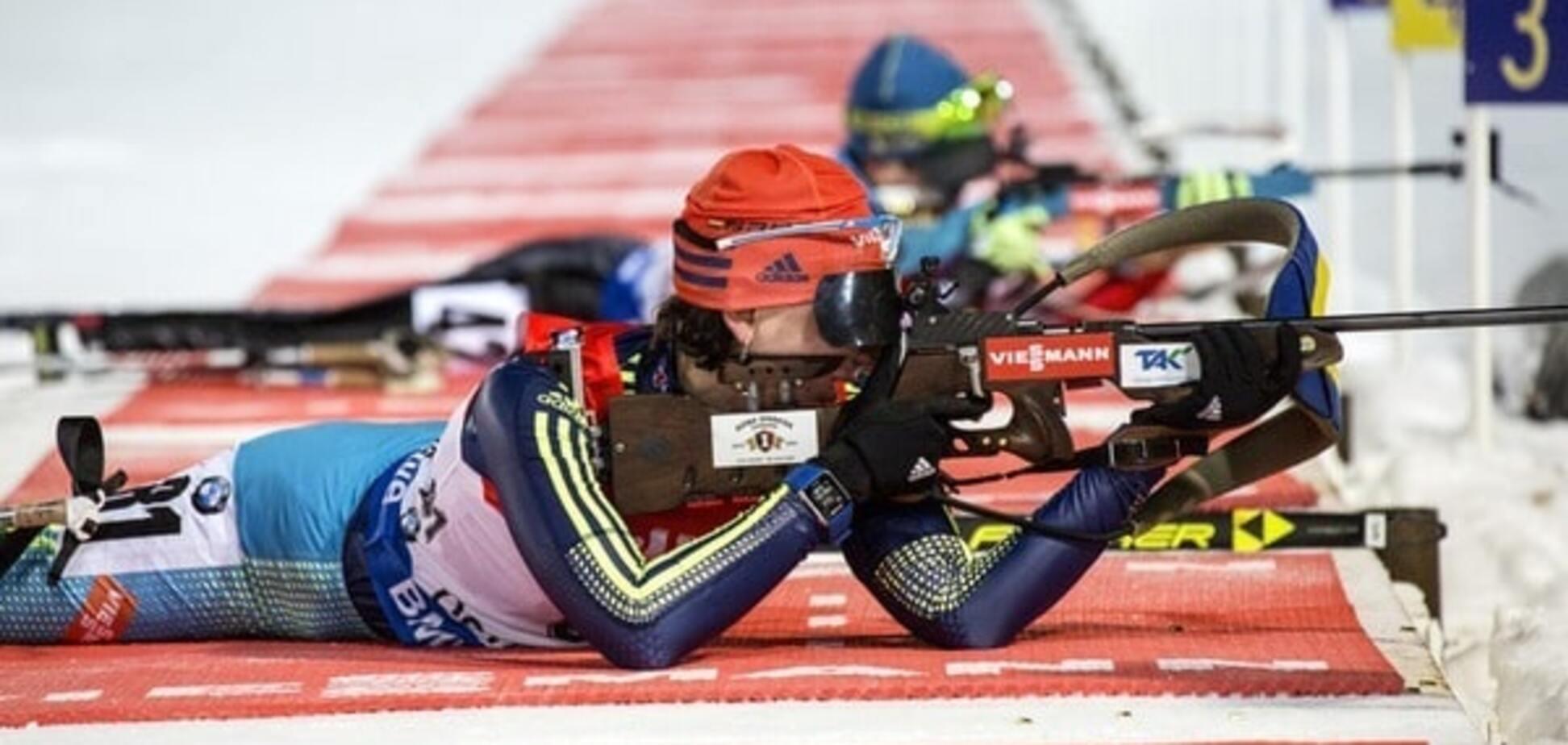 Україна завоювала 'бронзу' на Кубку світу з біатлону