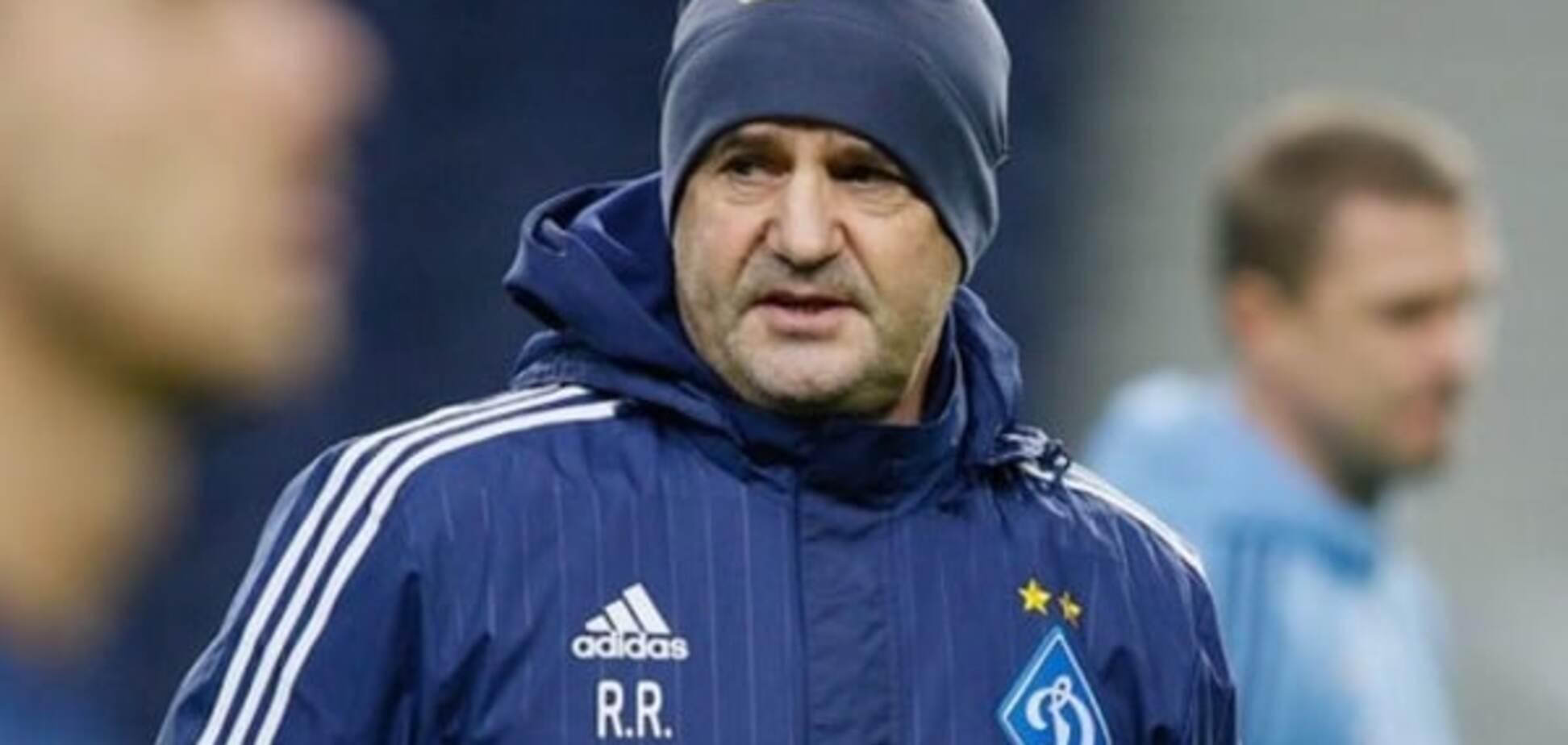 Тренер 'Динамо' назвав умову, через яку клуб не заслуговує Ліги чемпіонів