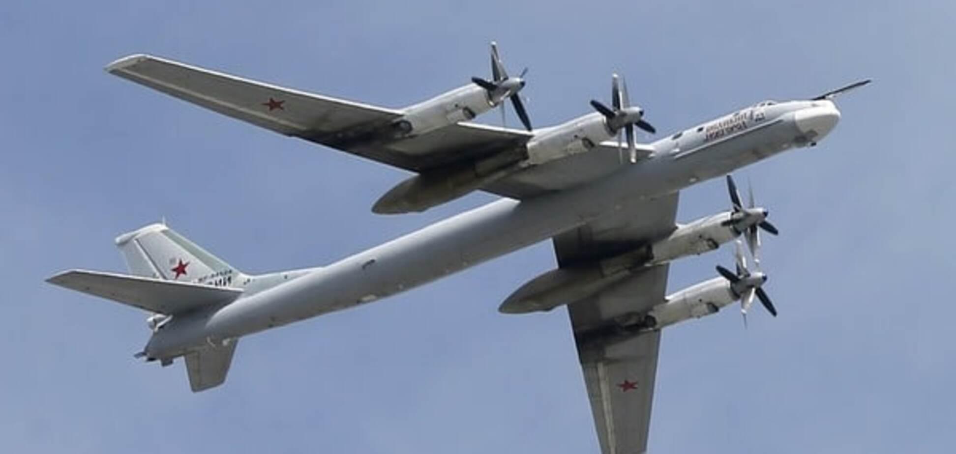 Російські бомбардувальники облетіли військові бази США