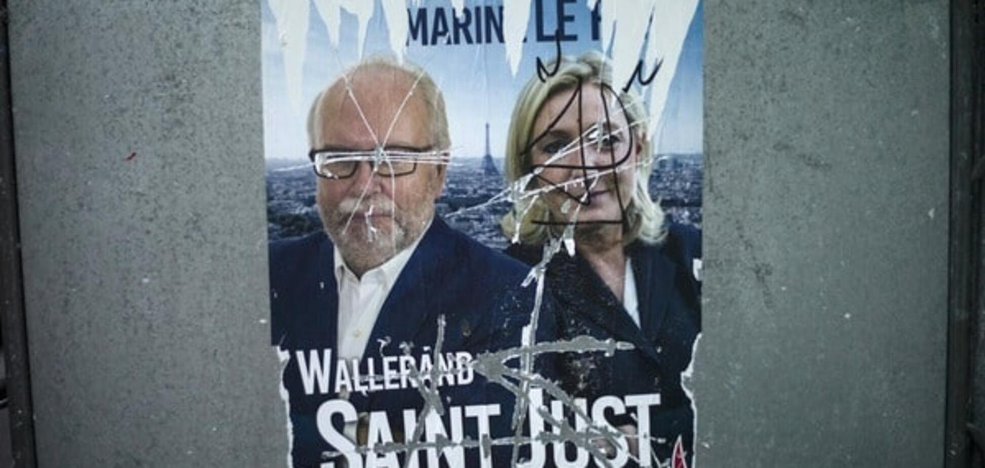 Рука Кремля: до влади у Франції прорвалася одіозна Марін Ле Пен