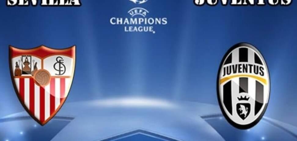 Севилья – Ювентус: прогноз букмекеров, где смотреть матч Лиги чемпионов