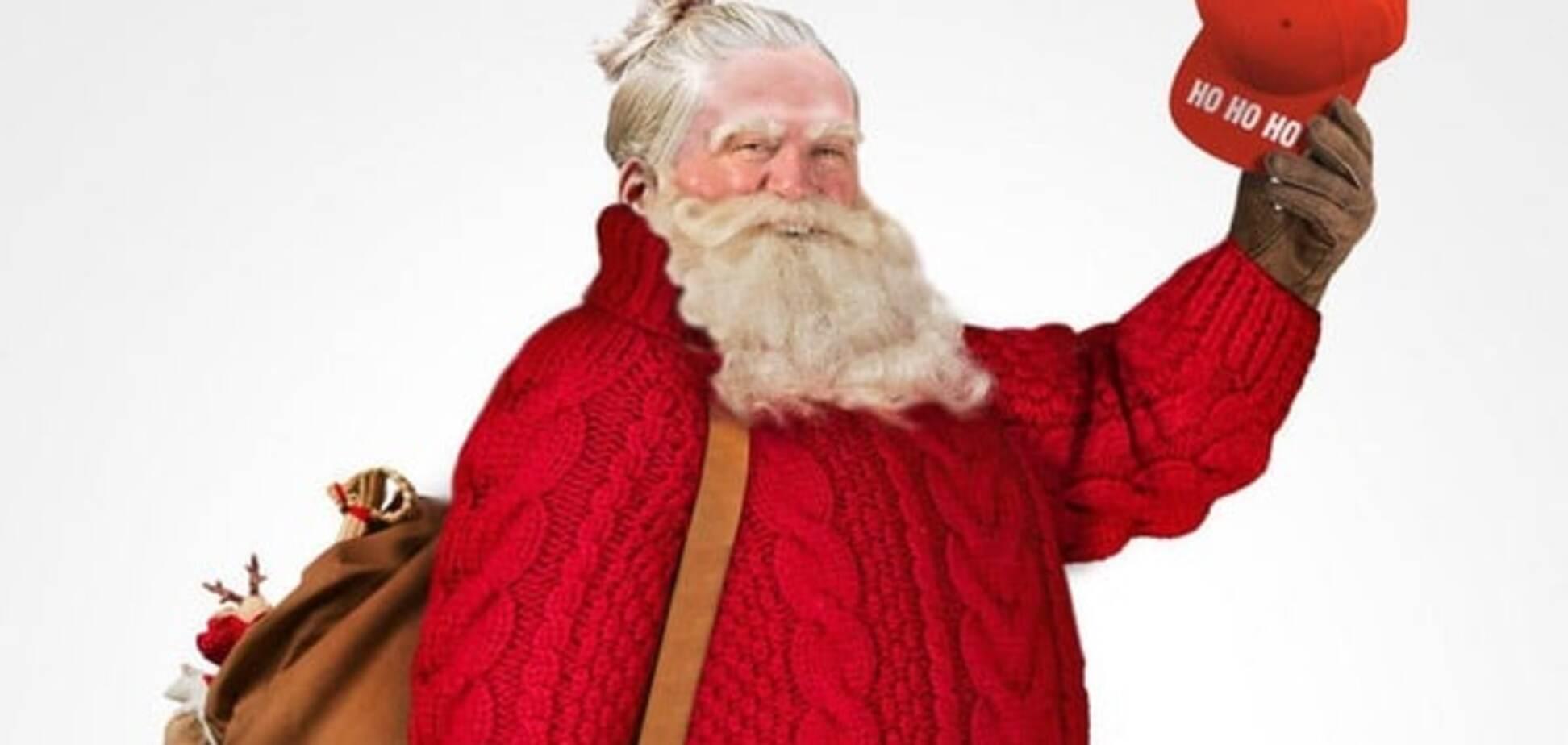 Дід Мороз у шоці: на Заході Санта-Клауса зробили хіпстером