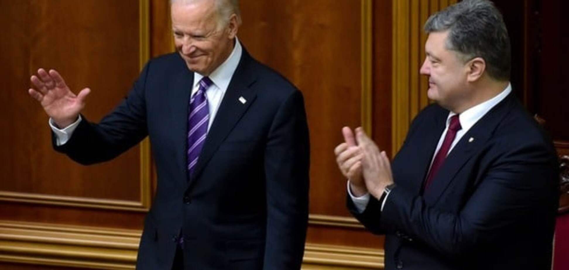 Вице-президент США Байден выступил в Верховной Раде