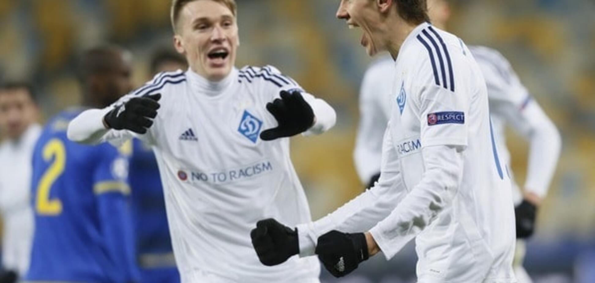 'Динамо' впервые за 17 лет вышло в плей-офф Лиги чемпионов
