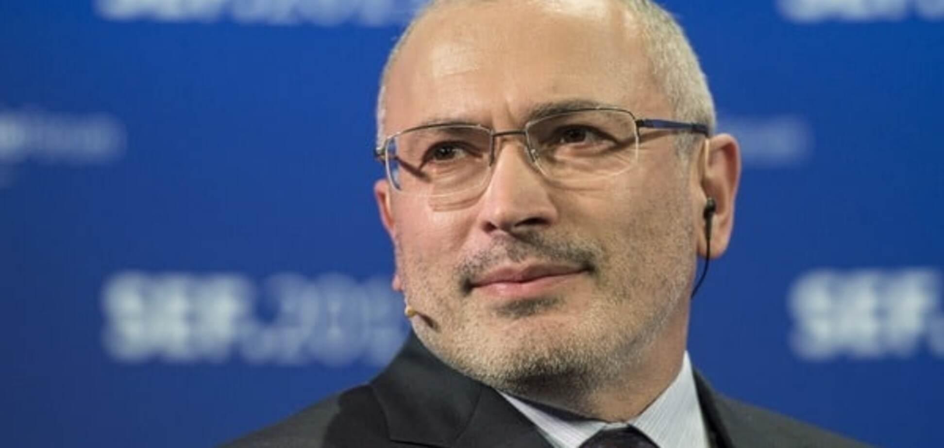 Росія отримає віддачу за своїми рішеннями про суди - Ходорковський