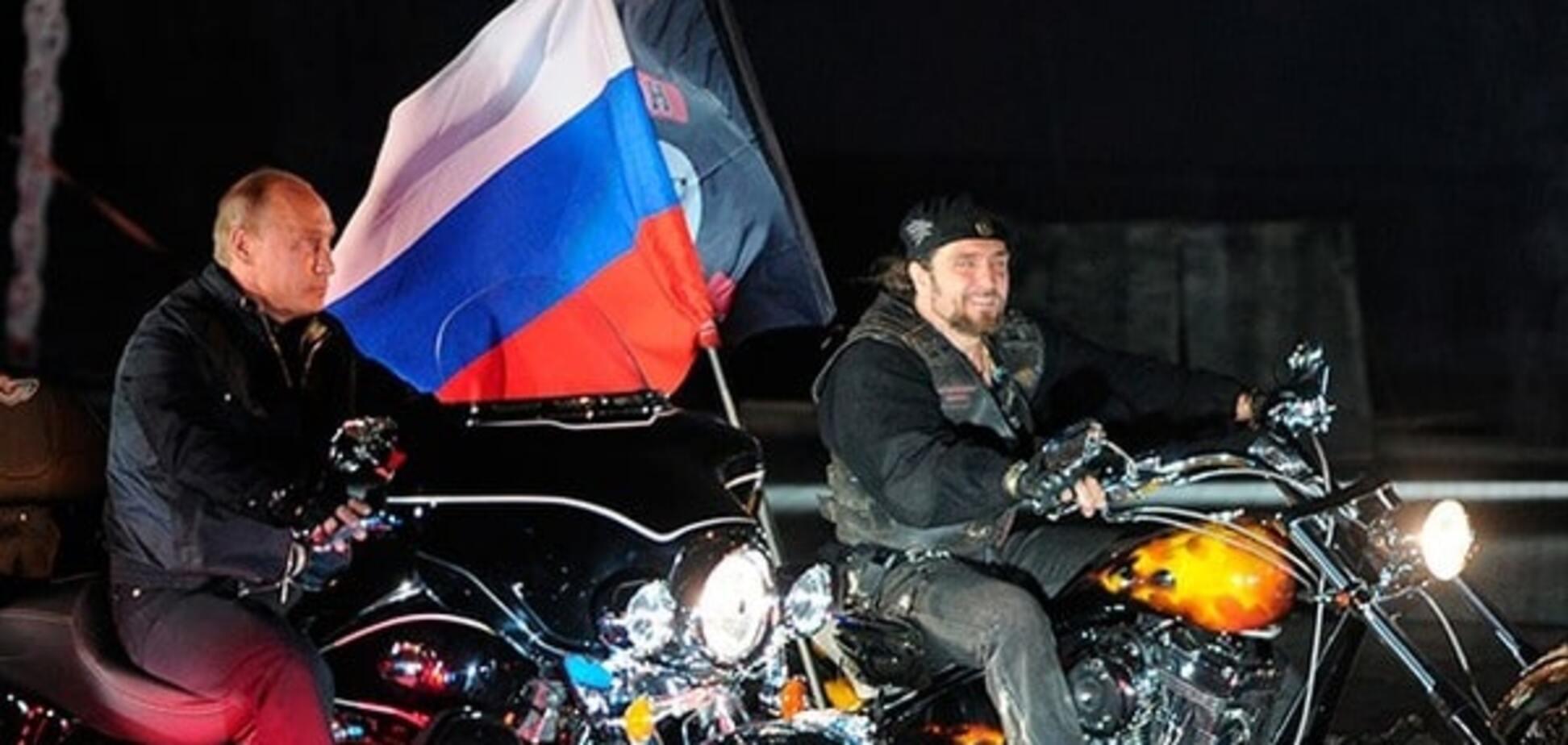 Ялинки і вовки: байкерам Путіна дали $137 тисяч на 'кремлівський' новий рік