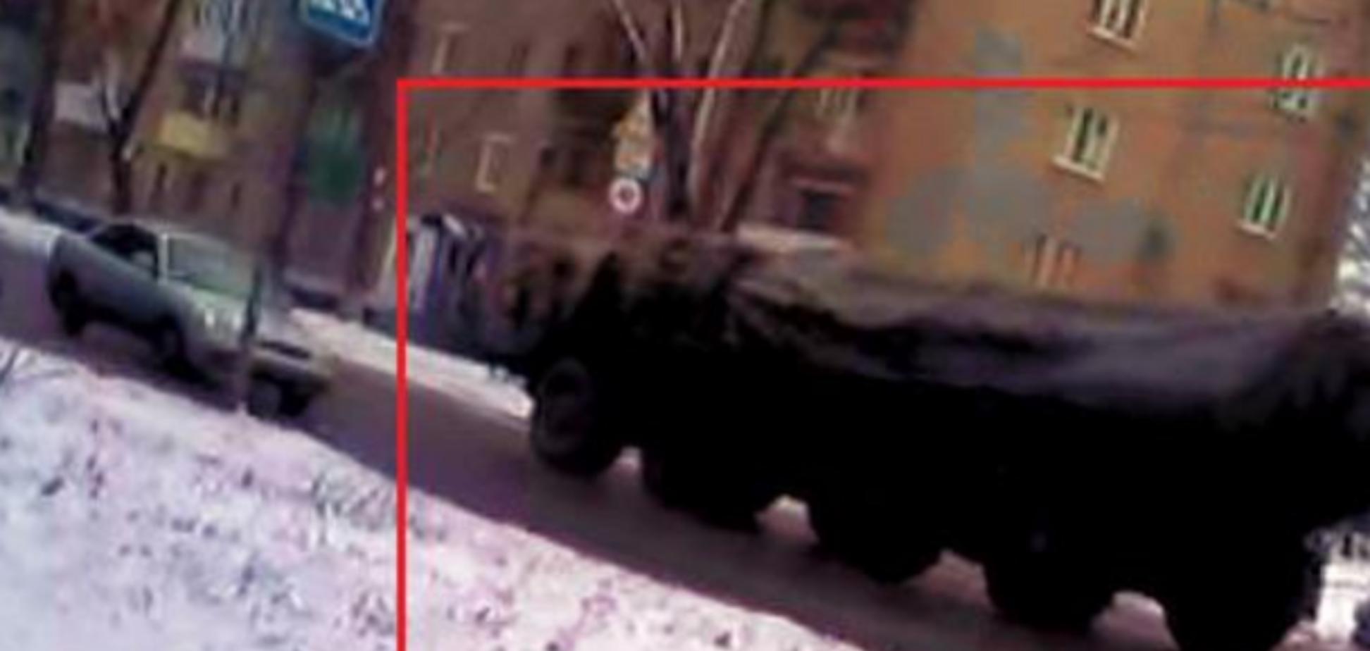 В день обстрела Краматорска в Макеевке появились российские 'Смерчи': опубликованы фото и видео