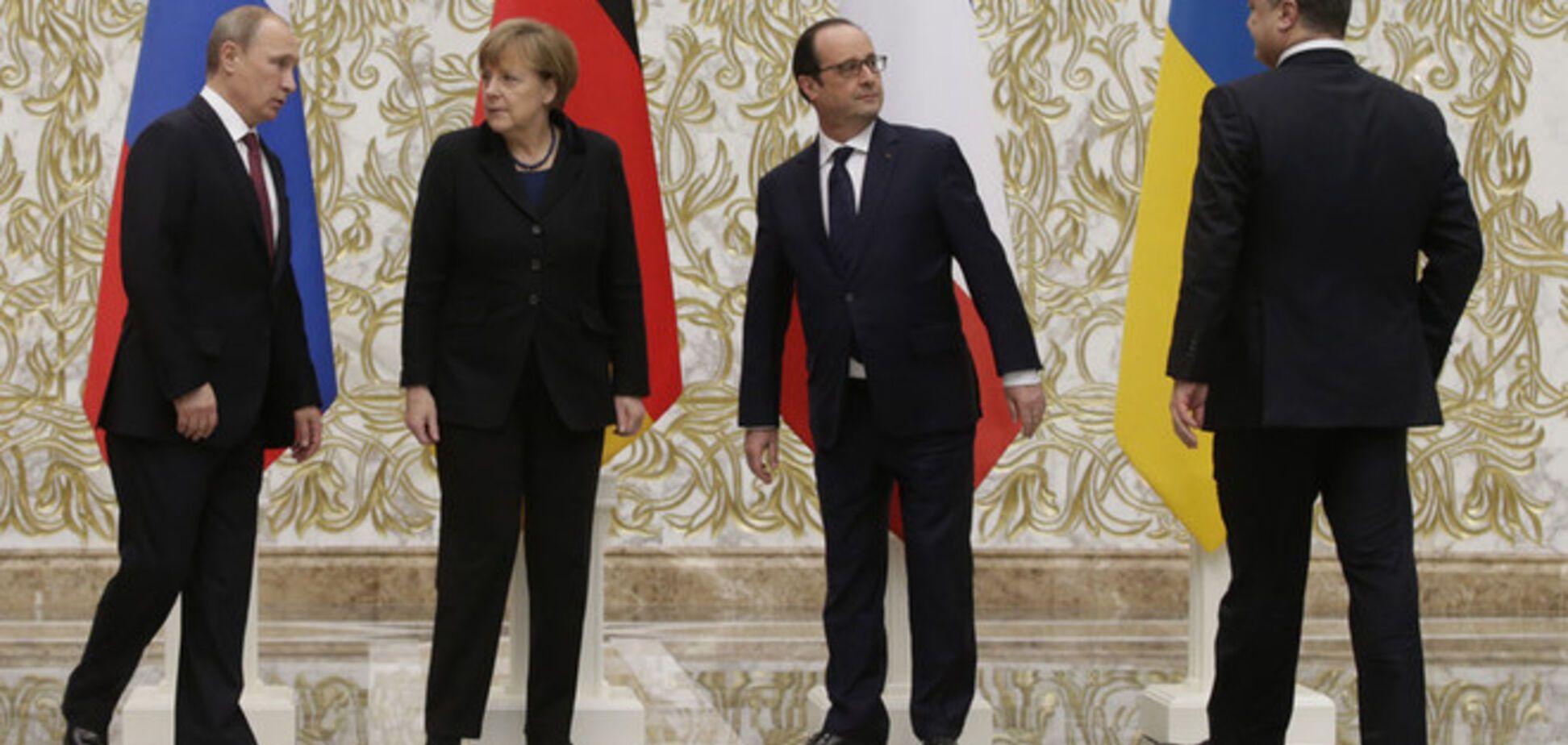 Минская встреча 'нормандской четверки' продолжилась в широком формате