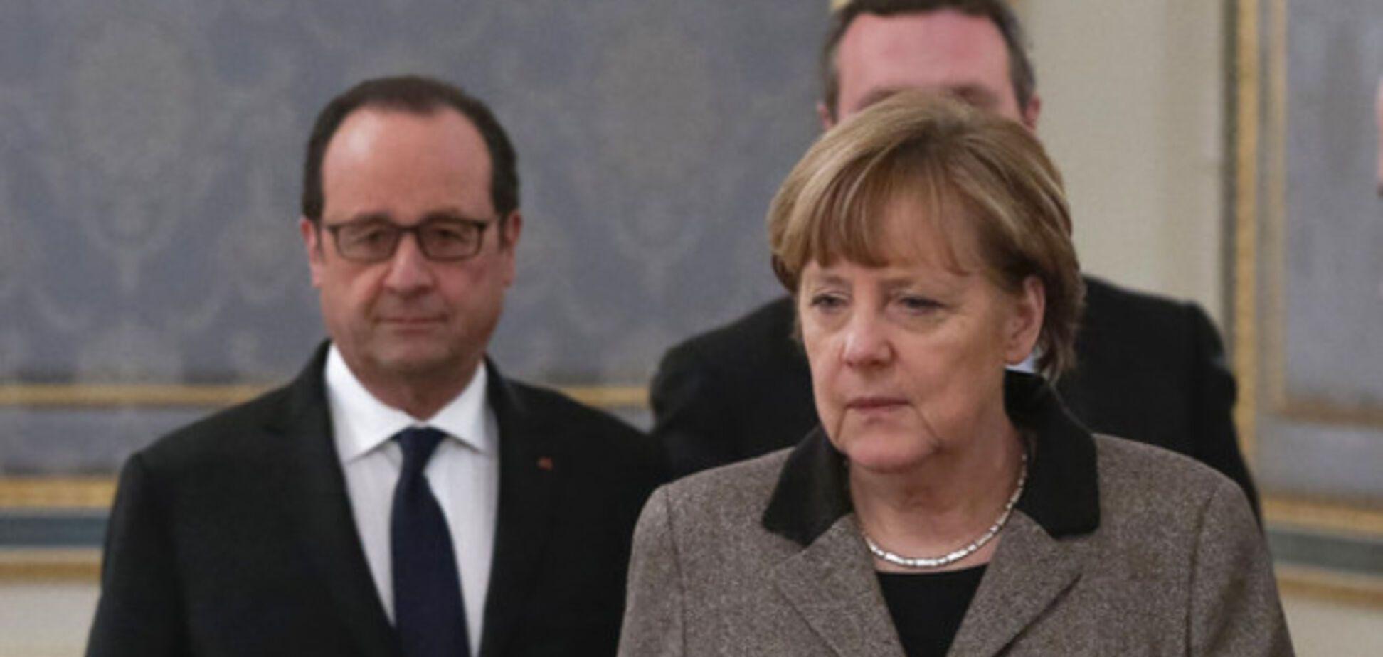 Олланд и Меркель на переговорах в Минске по Донбассу намерены использовать все возможности