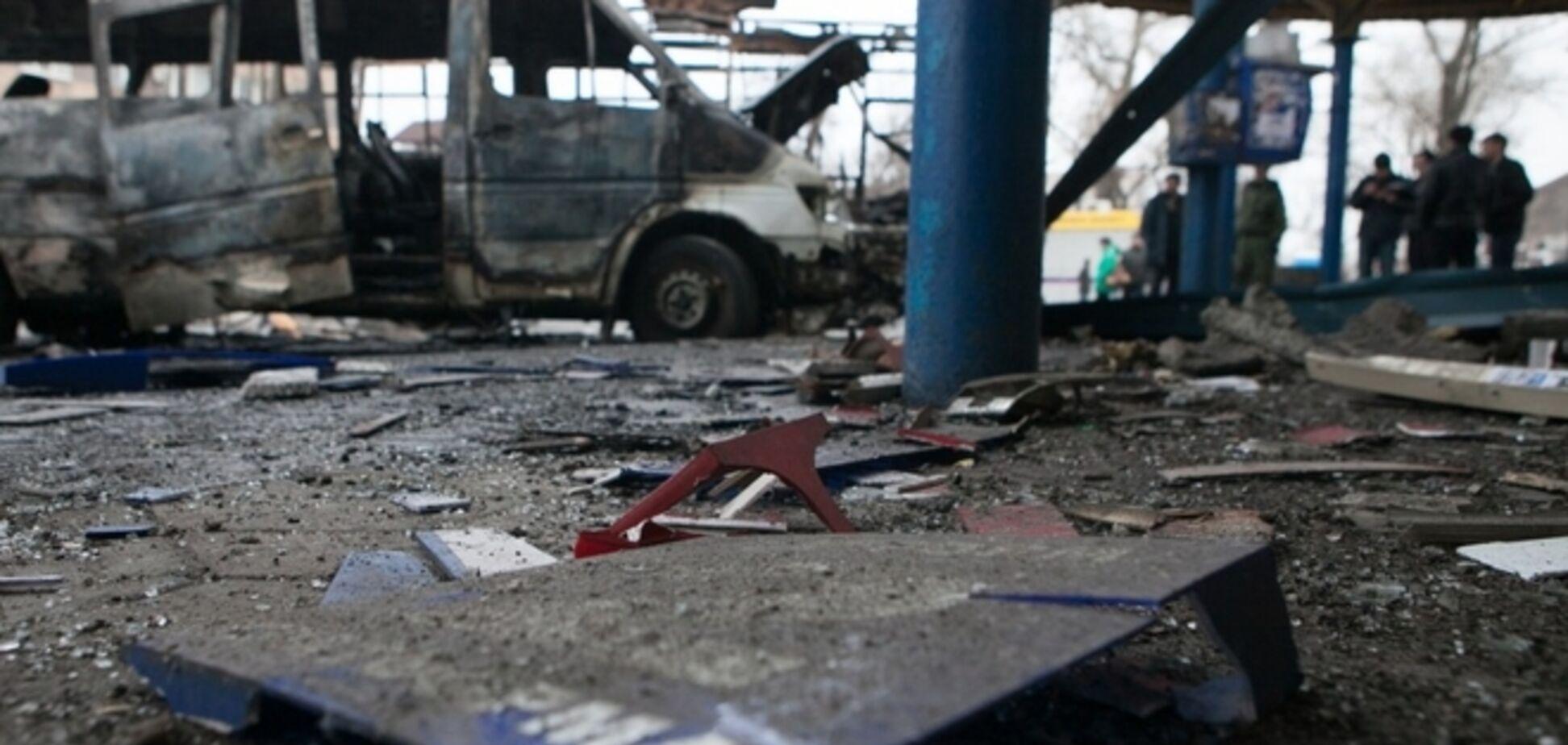 При обстреле автостанции в Донецке погибли шесть человек