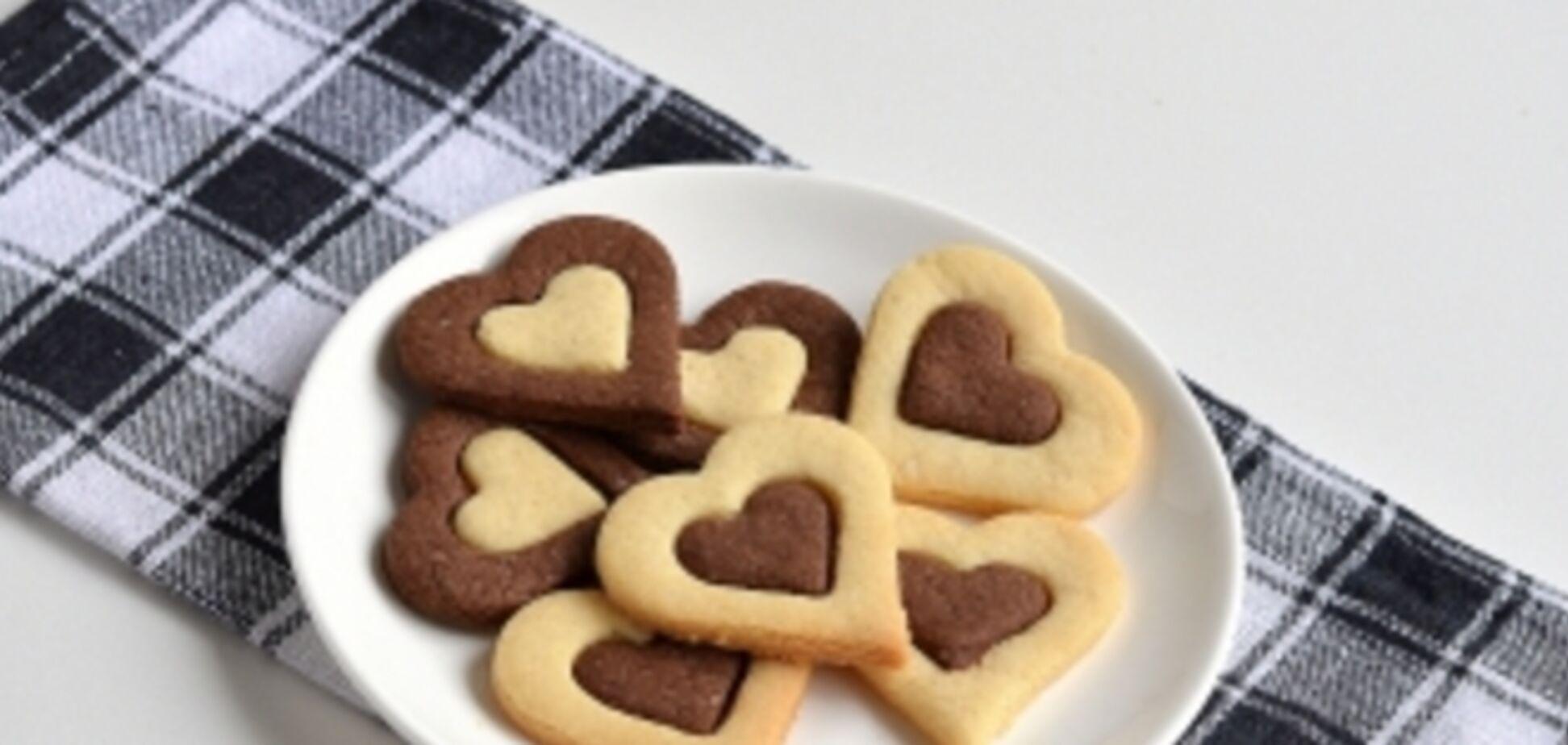 Оригинальное печенье ко Дню Святого Валентина