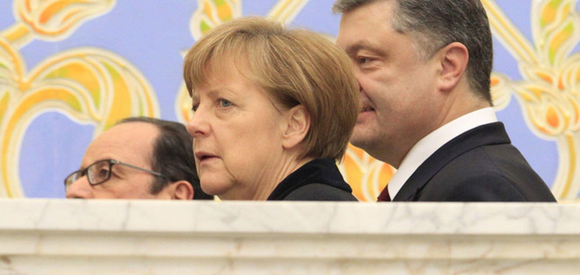 Меркель не надеется на скорый мир в Украине: есть серьезные препятствия