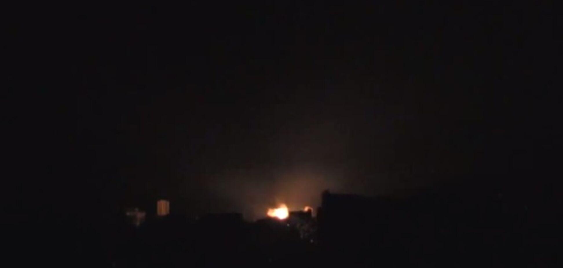 Луганск обстреляли из реактивных систем залпового огня. Видеофакт