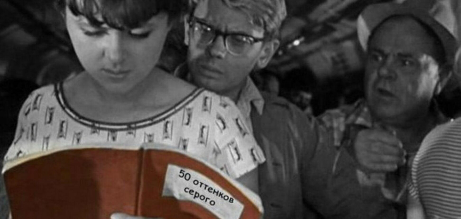 В Сети появились фотожабы на фильм '50 оттенков серого'