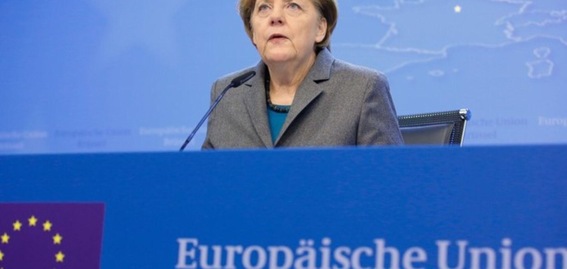ЕС не откажется от принятых против России санкций, 16 февраля они начнут действовать - Меркель