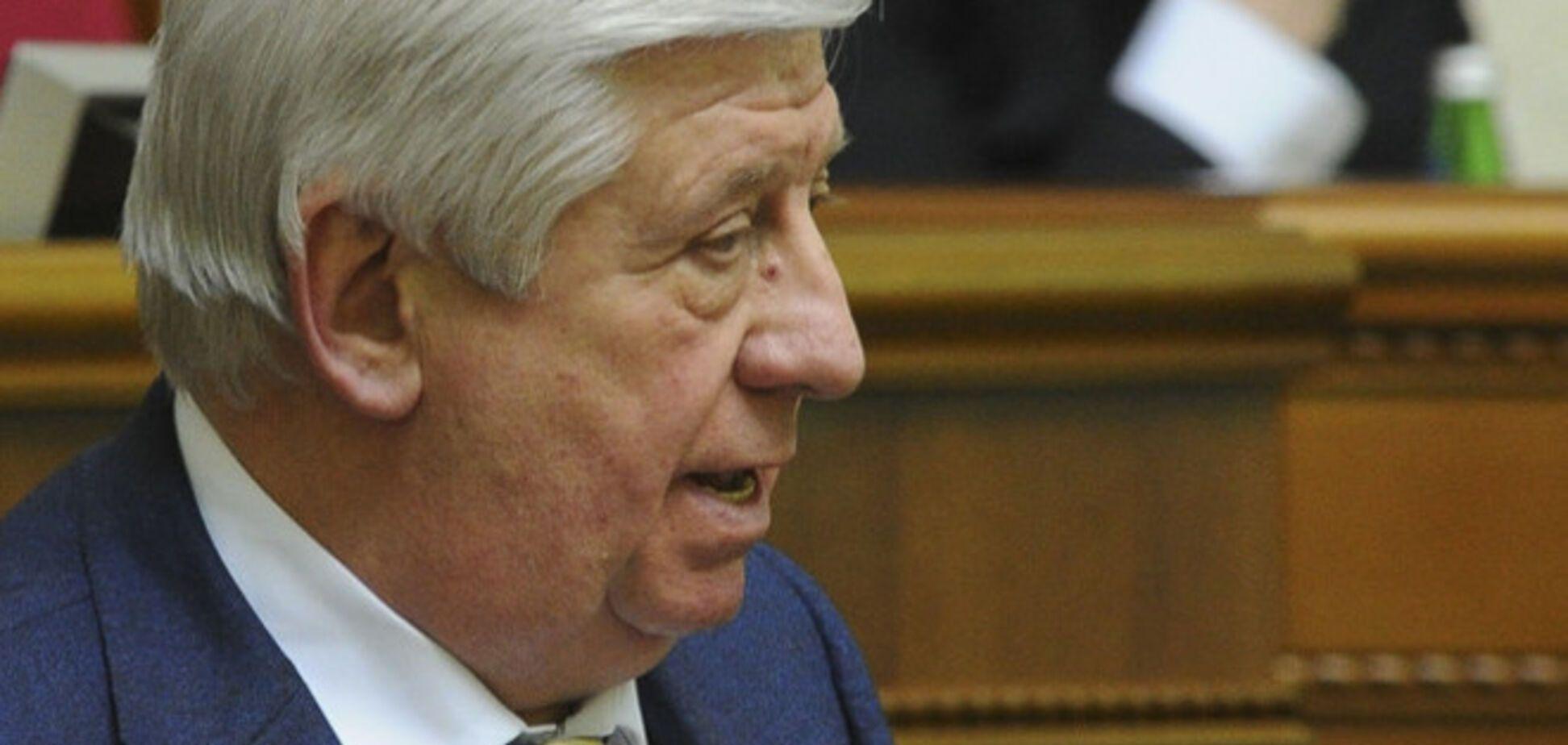 Шокин начал чистки в ГПУ с главы следственного управления и прокурора Донецкой области