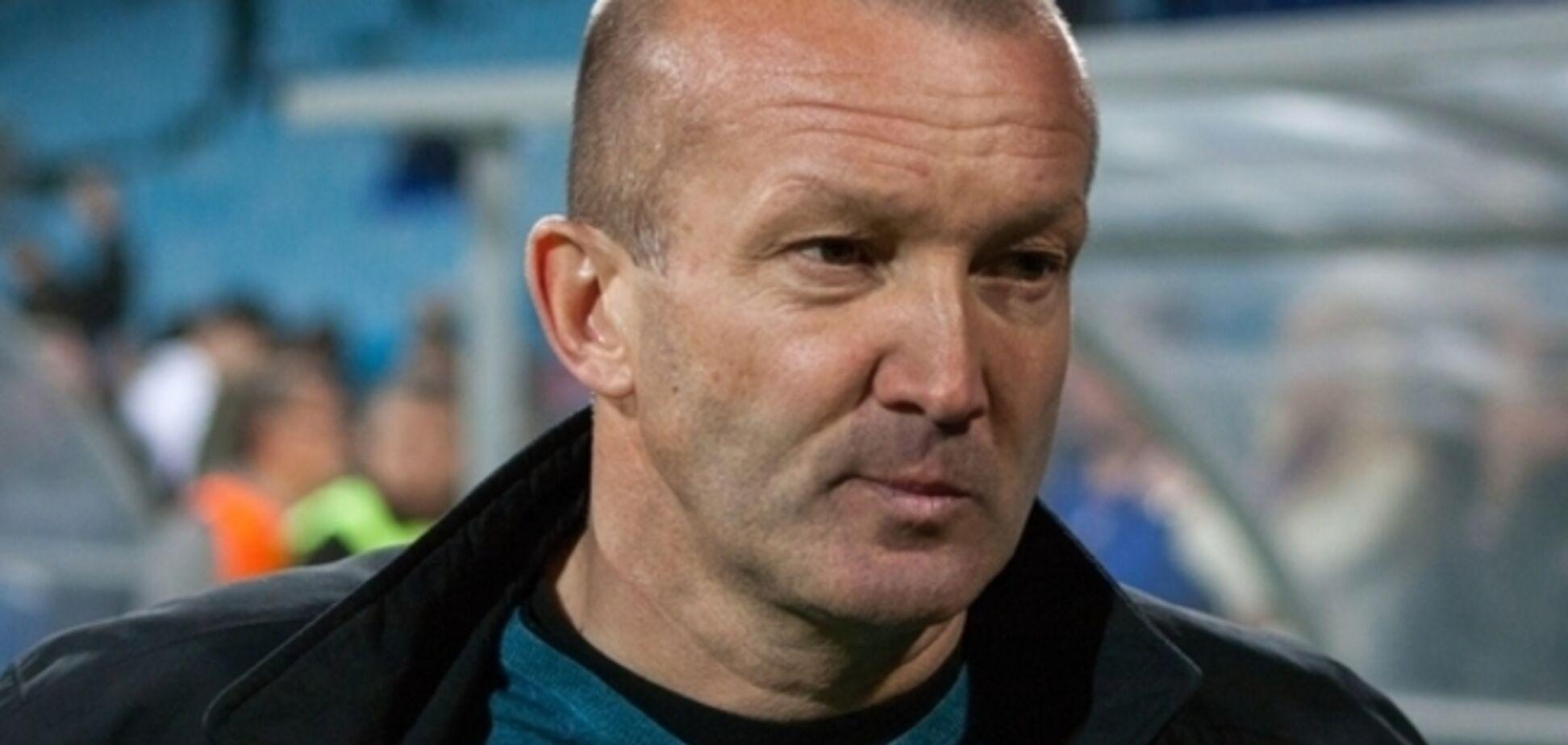 Известный украинский тренер в очередной раз опозорился в чемпионате Азербайджана