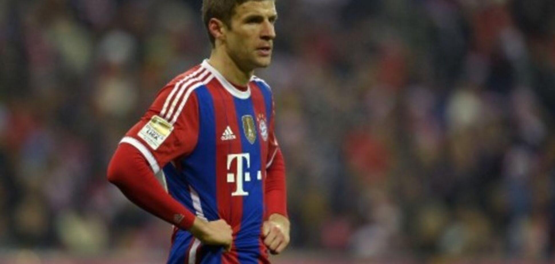 Томас Мюллер не боится ехать в Украину. Источник: fussballeuropa.com