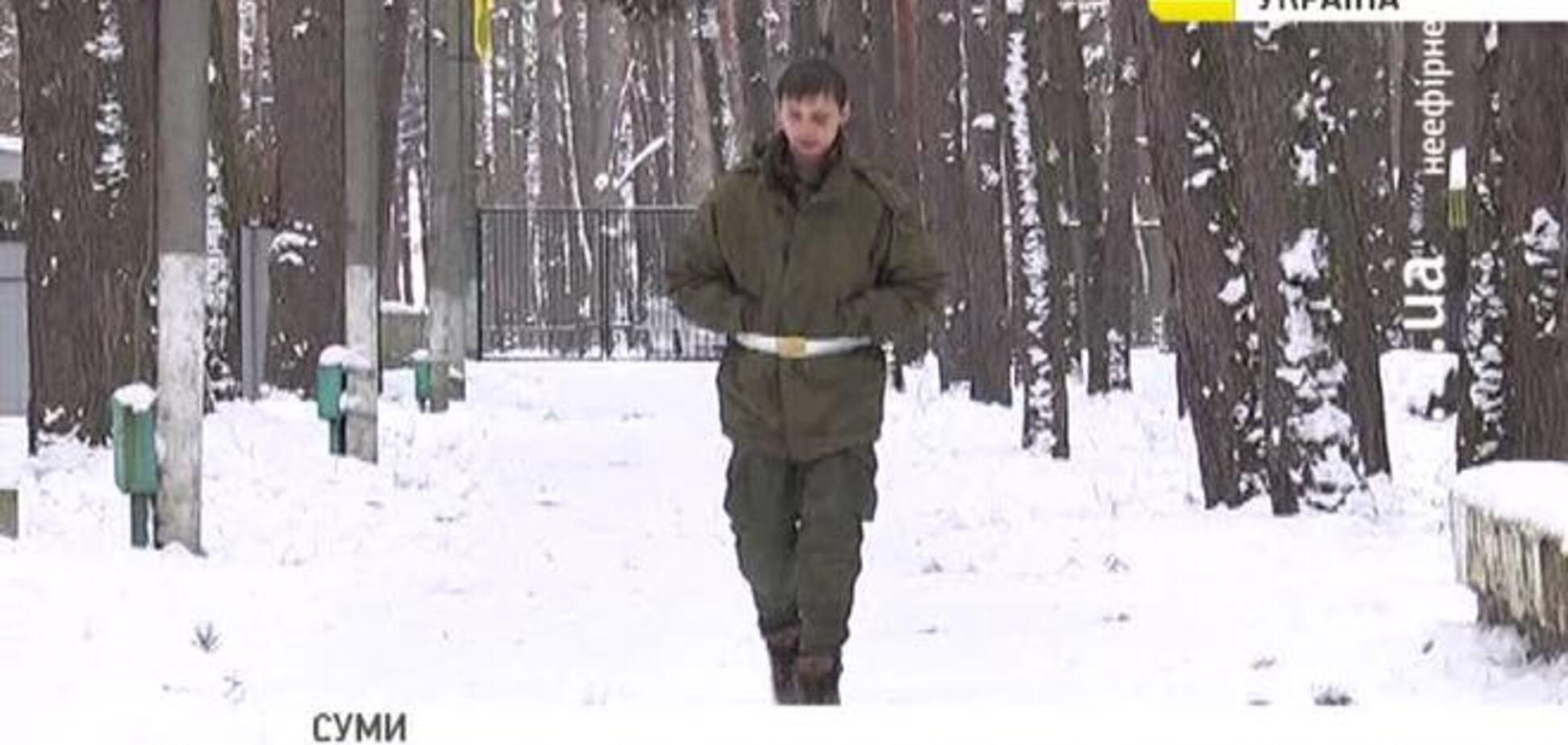 Московский кадет автостопом ехал в Украину, чтобы воевать на стороне сил АТО