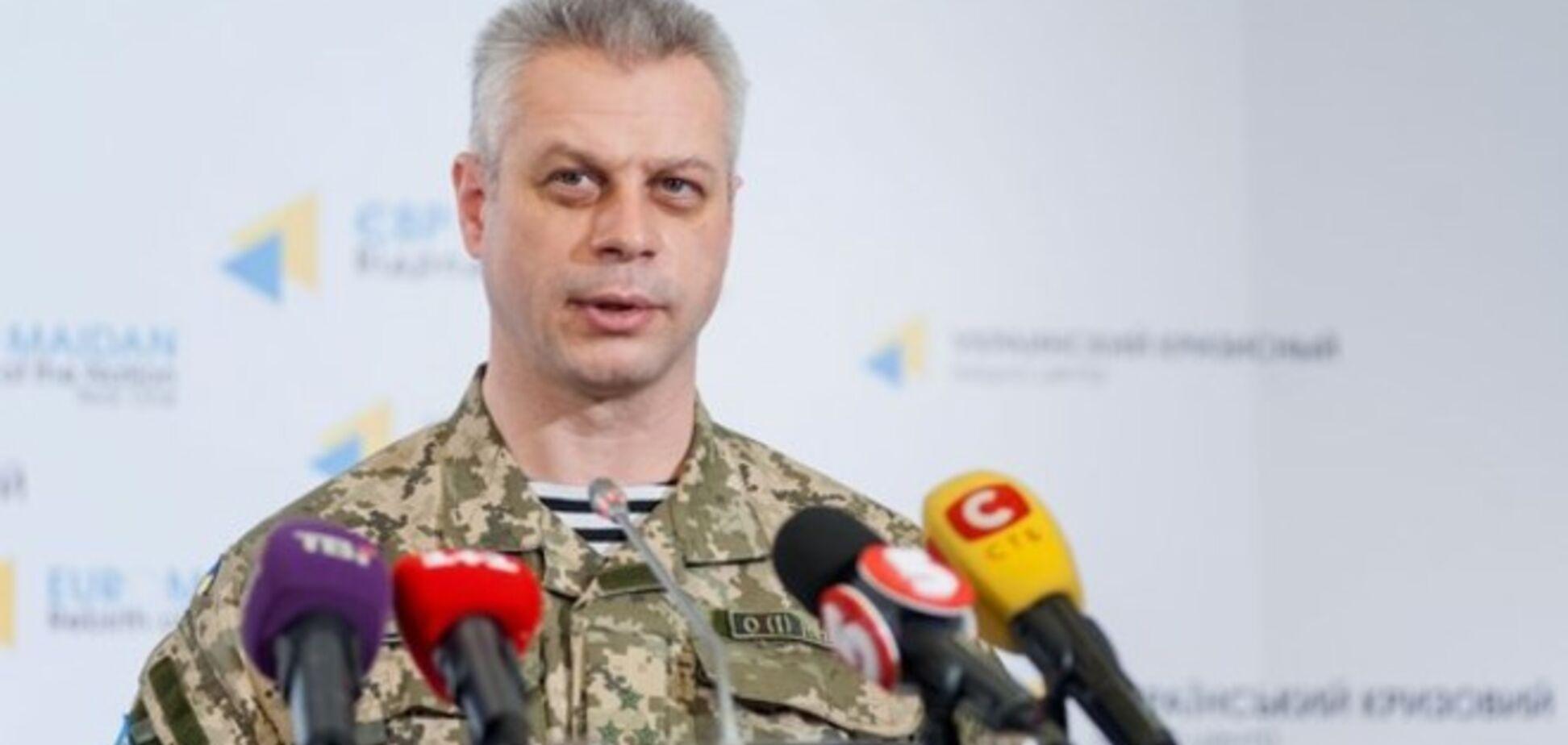 Украина не будет отводить тяжелое вооружение, пока обстрелы полностью не прекратятся - СНБО