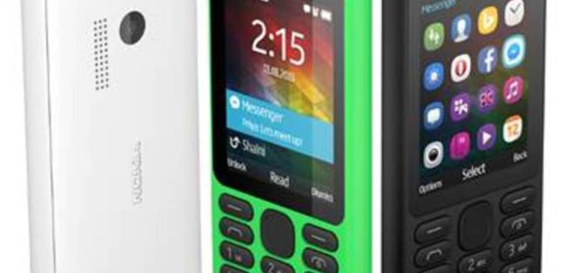 В Украине начались продажи самого дешевого телефона от Microsoft -  Nokia 215