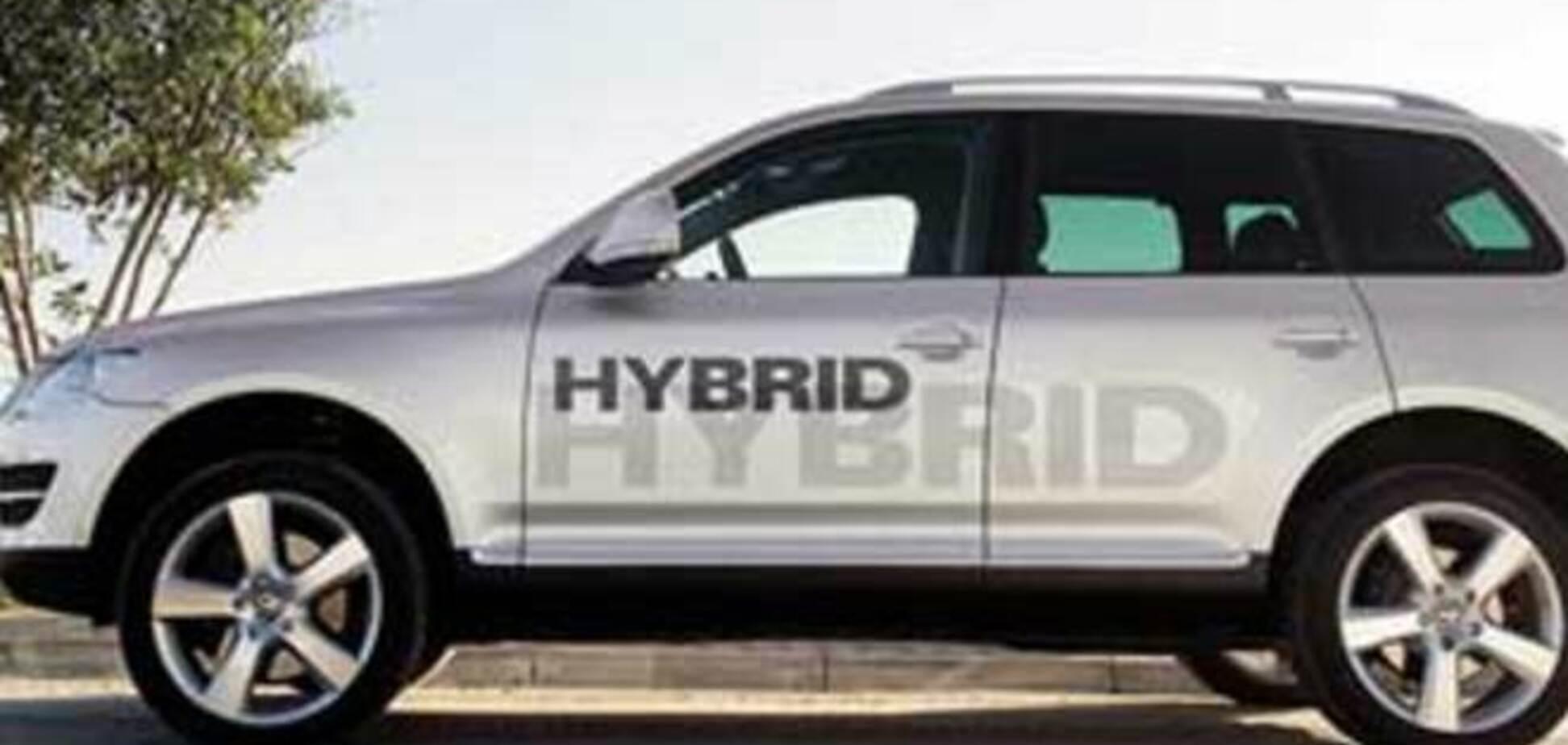 С импорта гибридных автомобилей сняли спецпошлину