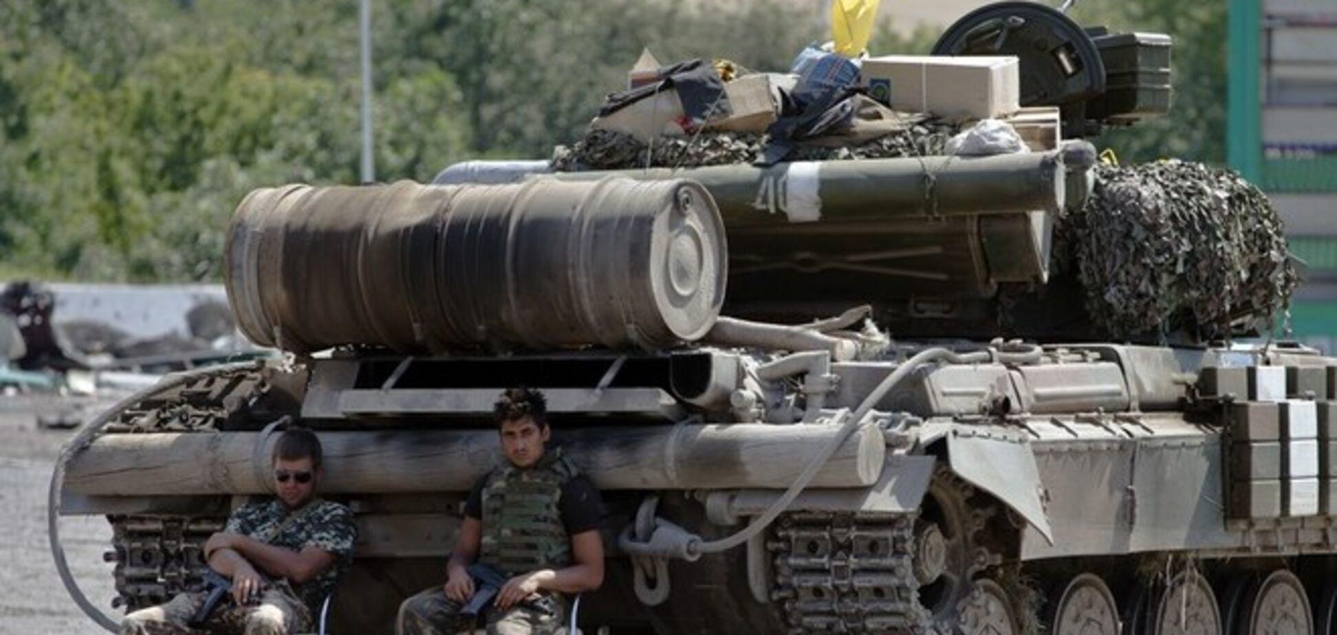 Опубликована карта запланированного отвода тяжелого вооружения на Донбассе