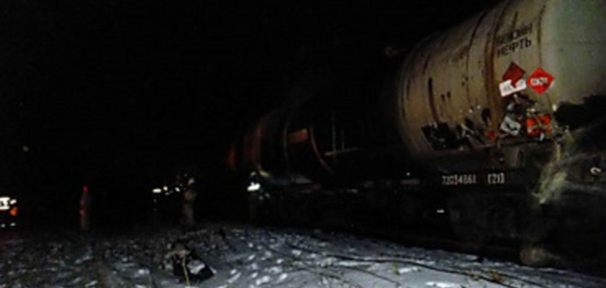 На Харьковщине около железной дороги прогремели 2 взрыва