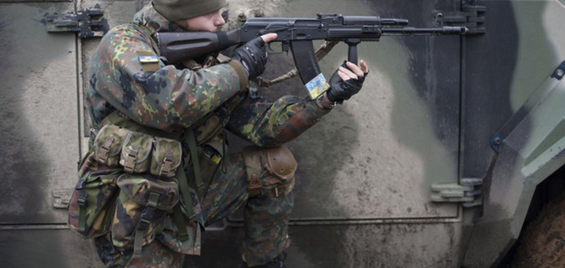 Бойцы АТО взяли под контроль одну из высот в Широкино