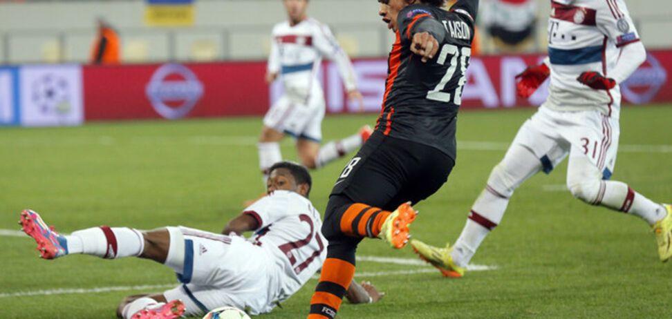 'Шахтер' удивил 'Баварию' в 1/8 финала Лиги чемпионов