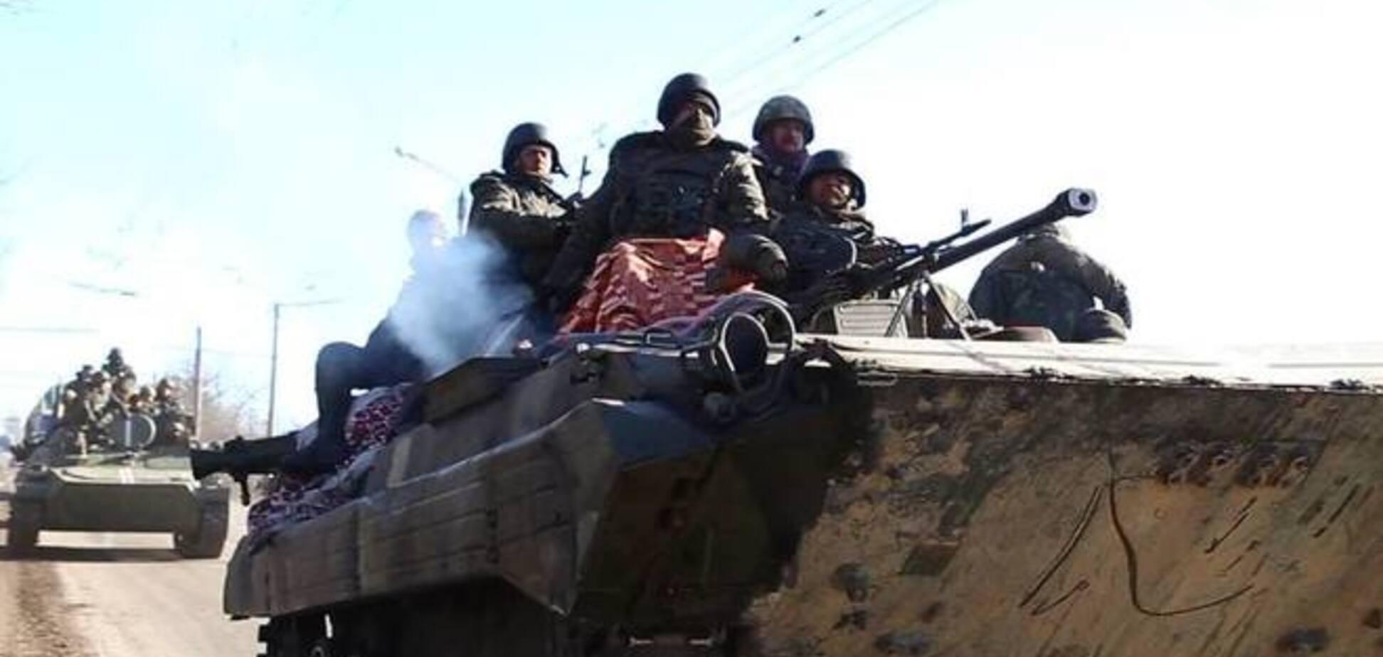 Силы АТО уходят из Дебальцево: хроника событий, фото и видео