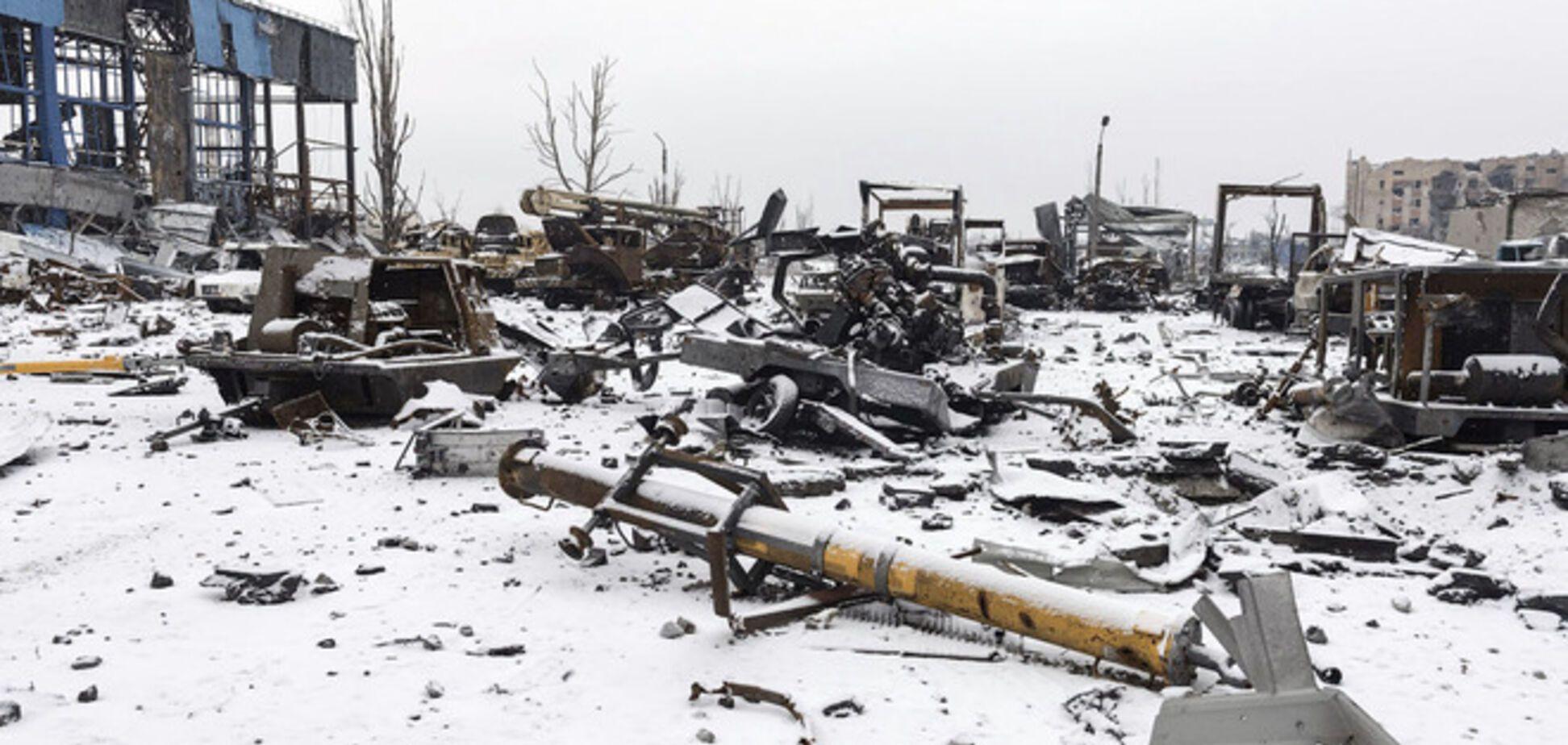 Боец АТО рассказал, как раненые 'киборги' двое суток выходили из донецкого аэропорта