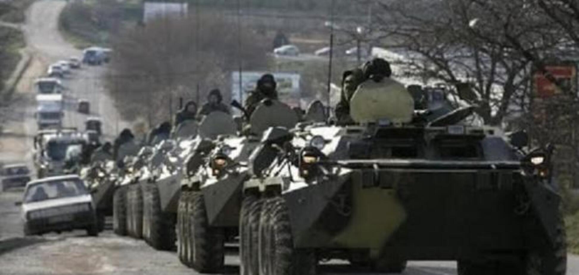 Россия перебросила на Луганщину огромные колонны военной техники - журналист