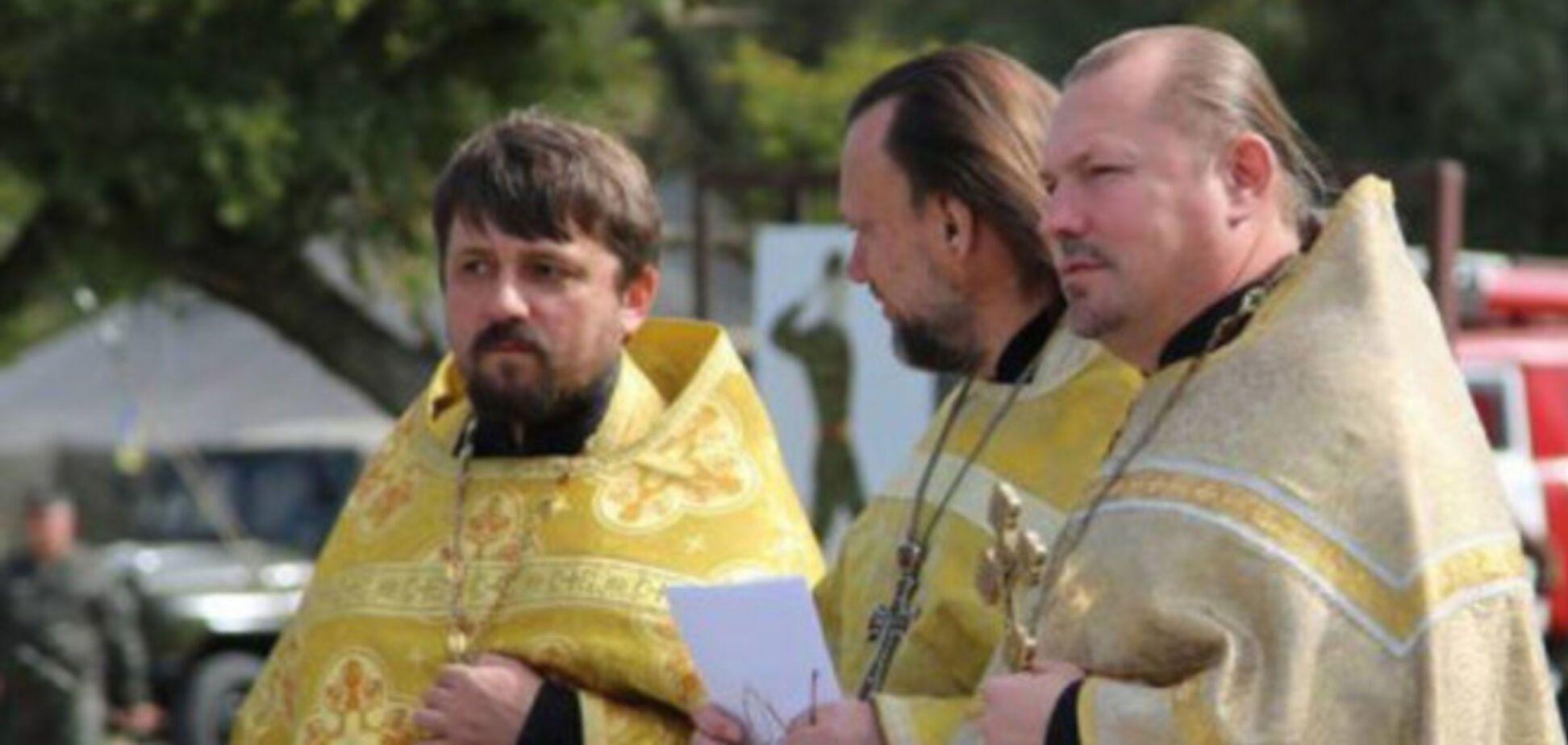 В зоне АТО пропал военный священник: местные видели, как его избивали боевики 'ДНР'