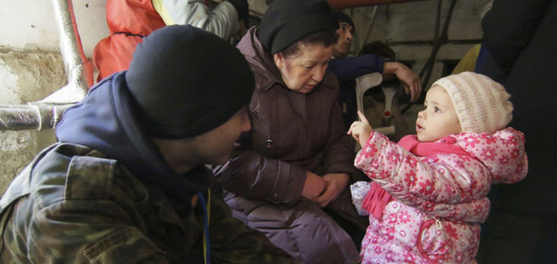 Жители Дебальцево ждут Путина