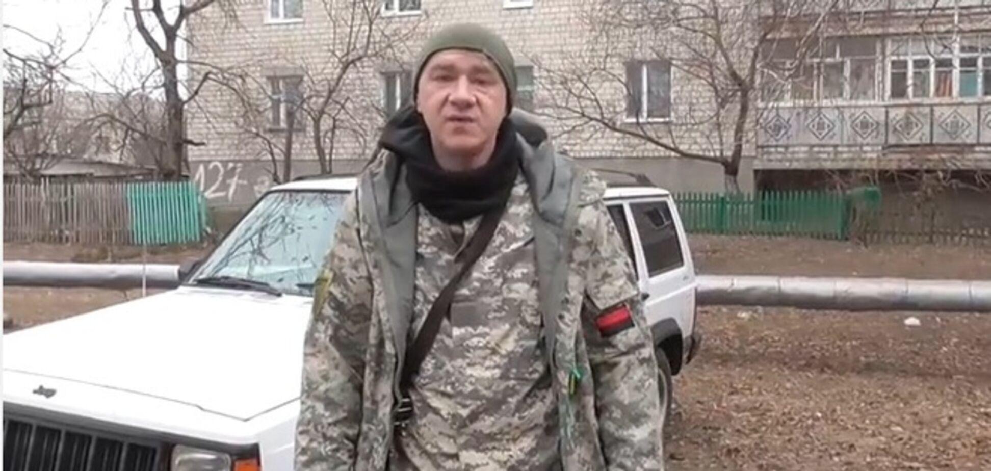 Котовські бізнесмени-патріоти подарували джип 'Черокі' Добровольчому батальйону ОУН