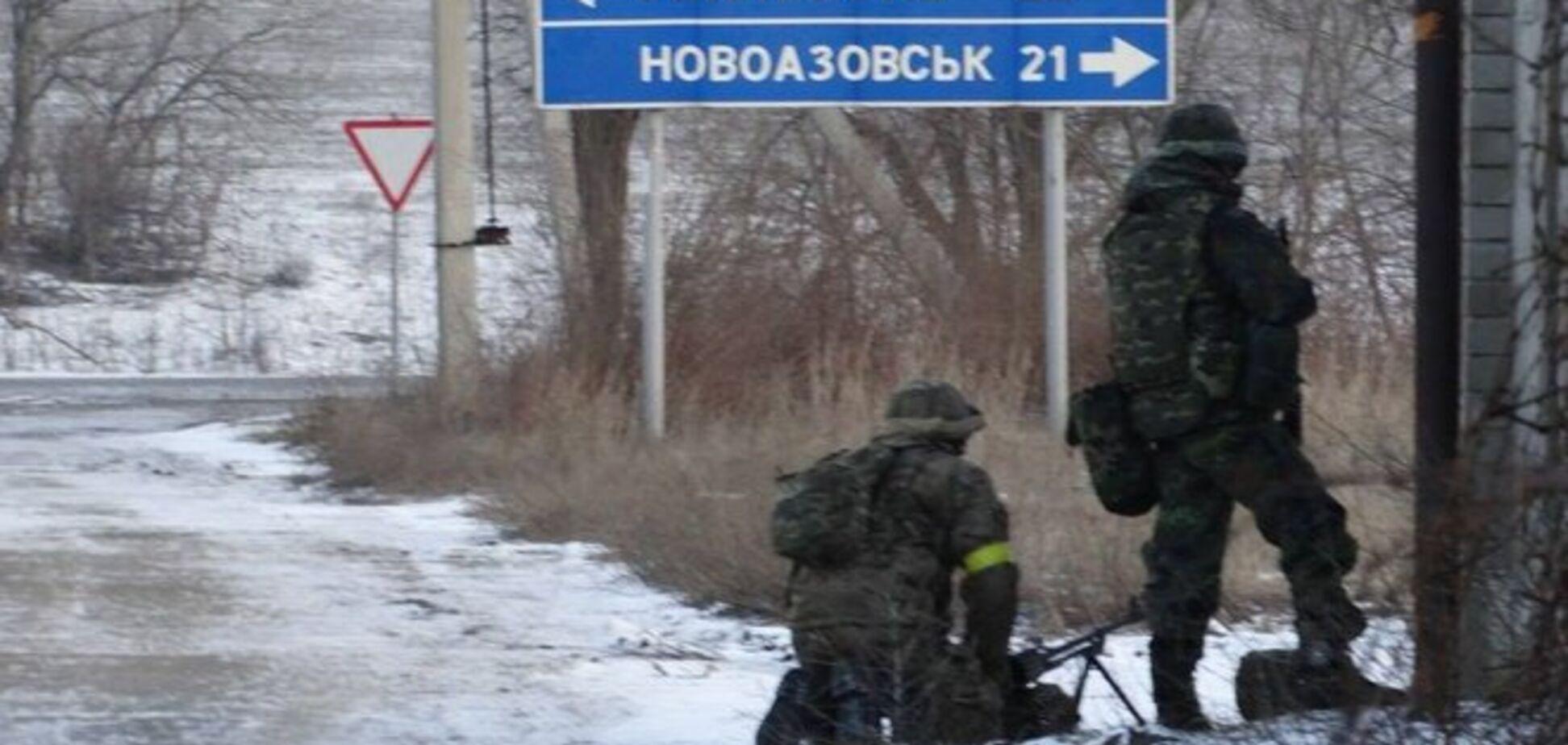 Российские войска перебрасывают силы под Широкино