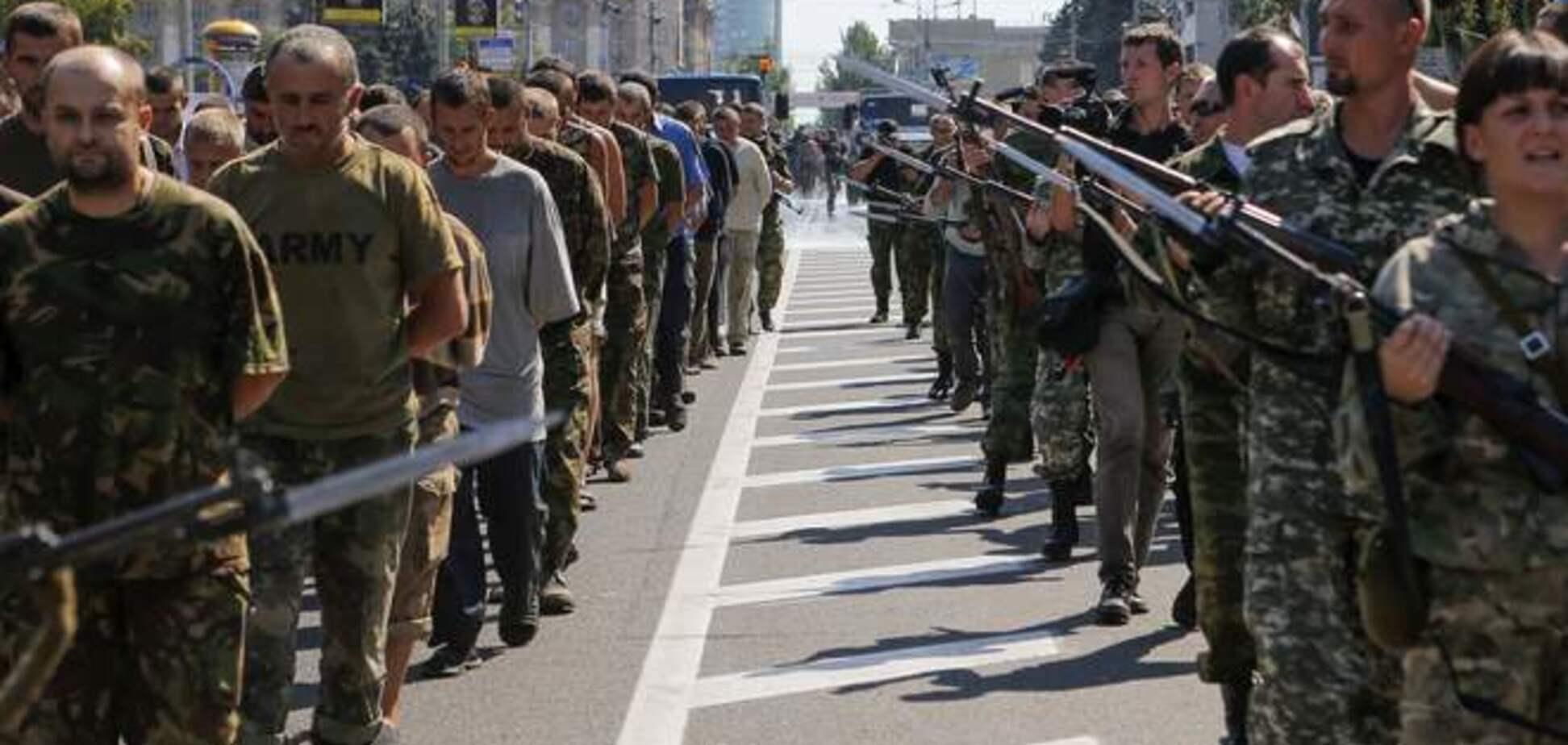 В оккупированном Луганске начали подготовку к 'параду военнопленных'