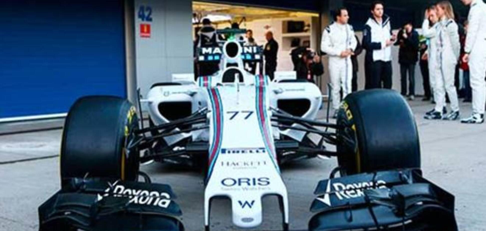 Самая многообещающая команда Формулы-1 представила болид 2015 года