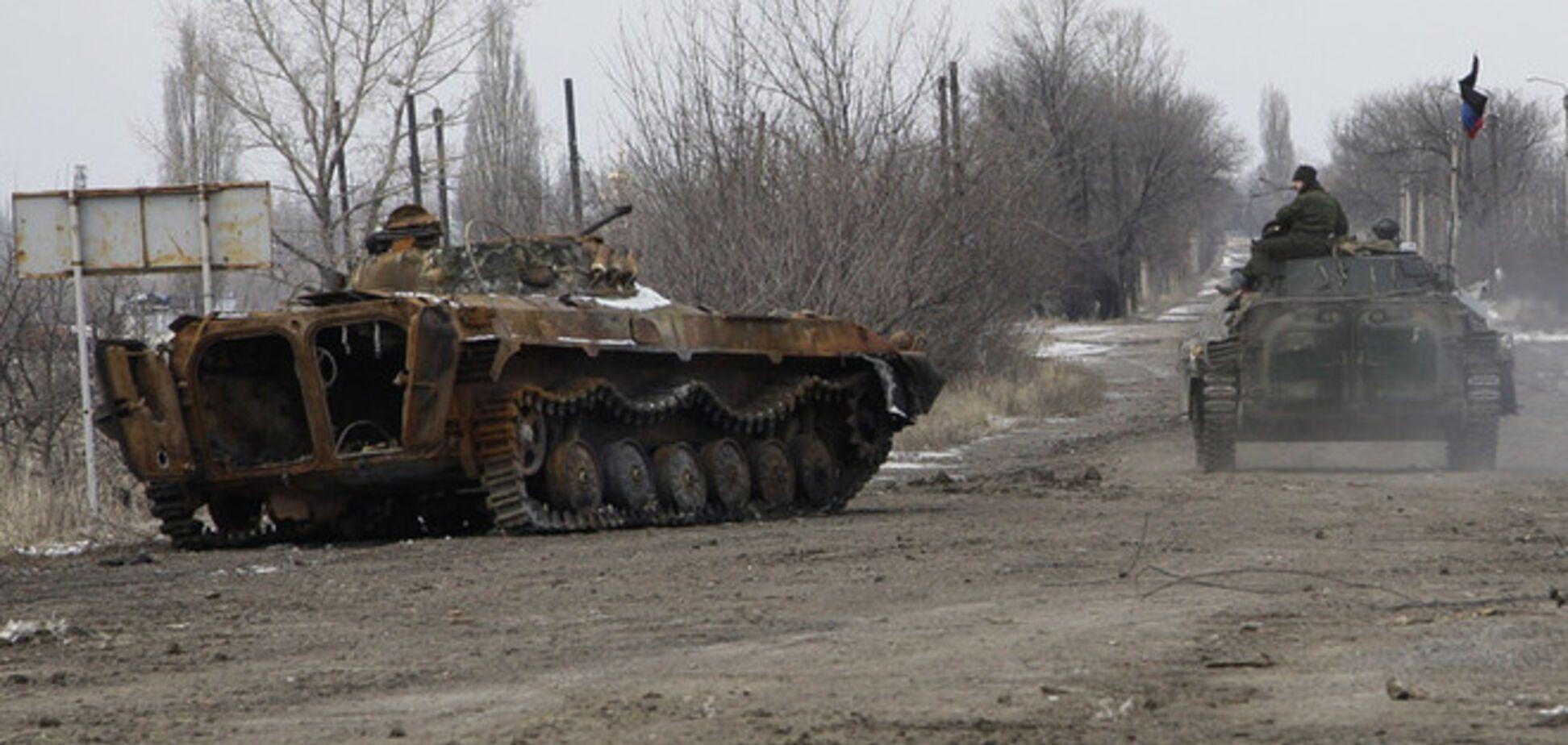 Террористы перегруппировываются на оккупированной территории Донбасса