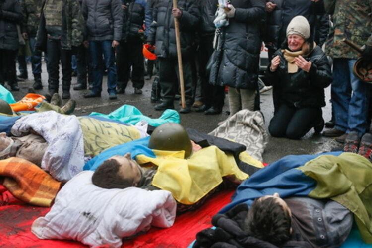 Близькі Героїв Небесної Сотні взяли участь у поминальному молебні в Києві - Цензор.НЕТ 5028