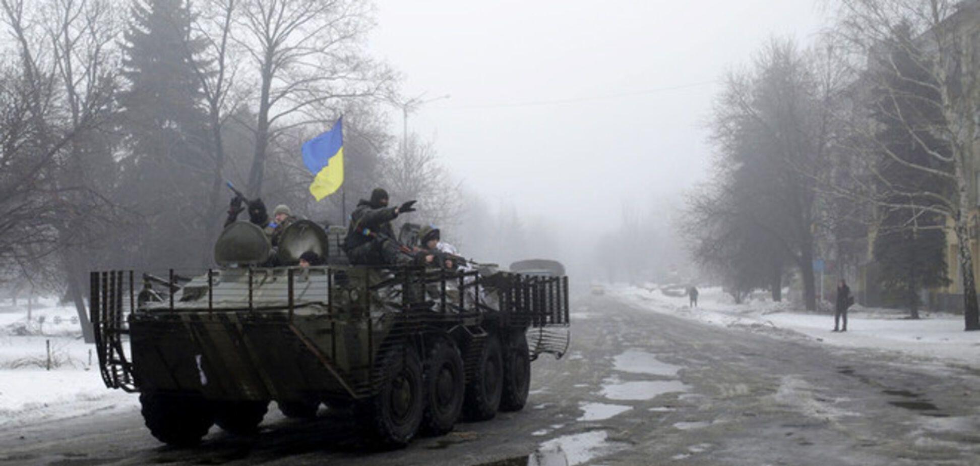 При отступлении из Дебальцево погибли 20 военных, около 200 ранены – МВД