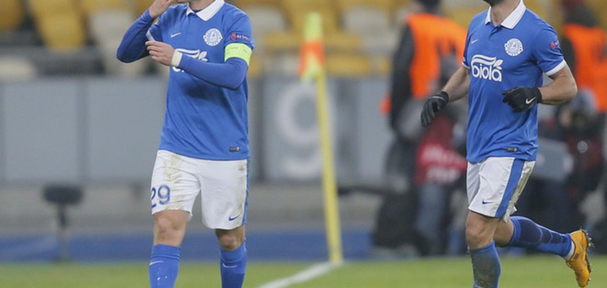 Капітан 'Дніпра' потрапив у символічну збірну Ліги Європи
