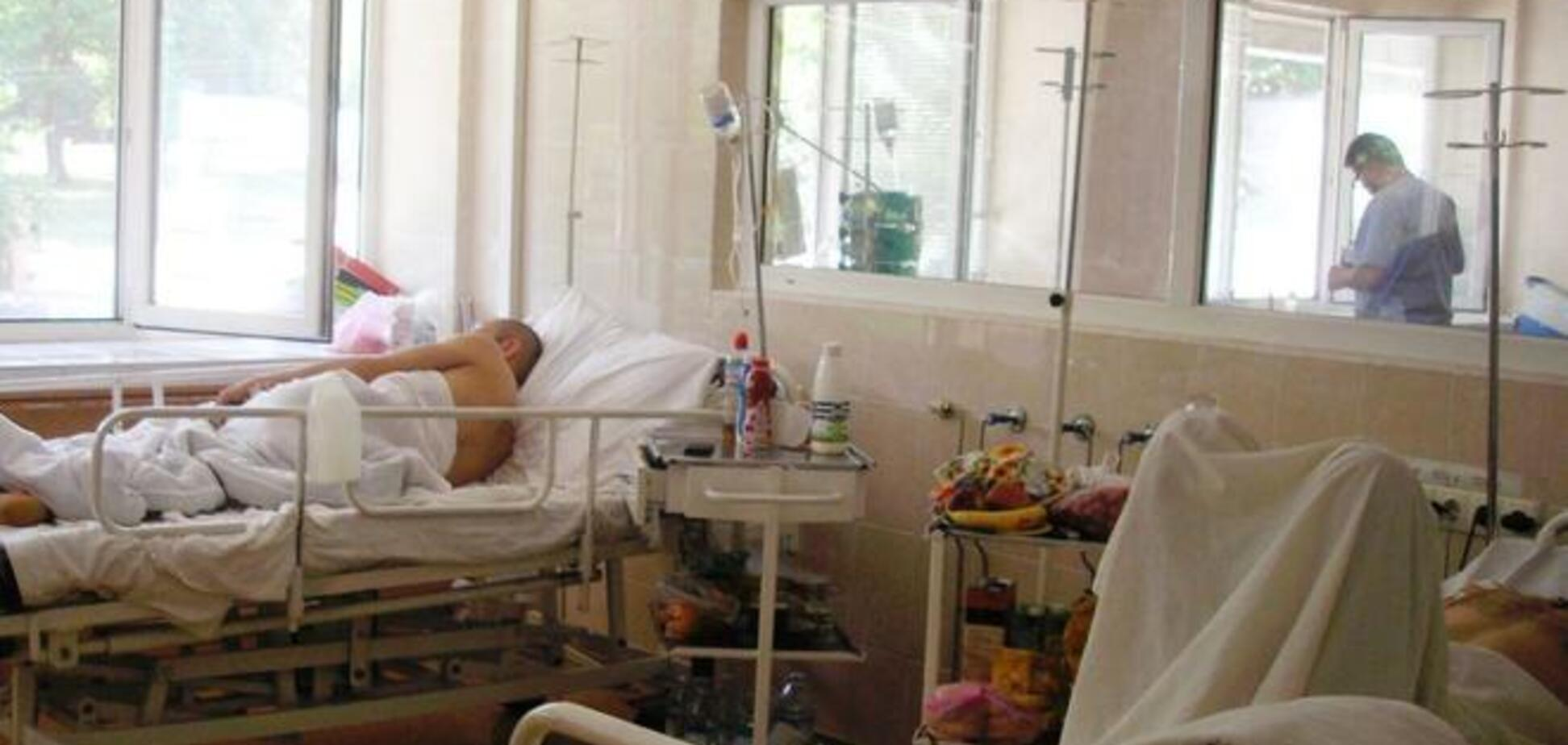 В Днепропетровск доставили раненых бойцов АТО из Краматорска