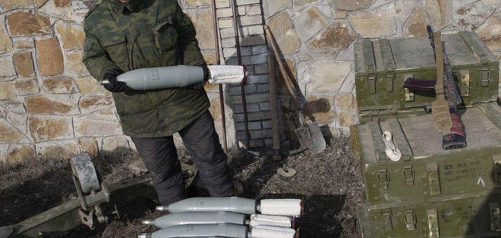 Боевики обстреляли позиции сил АТО из Донецка
