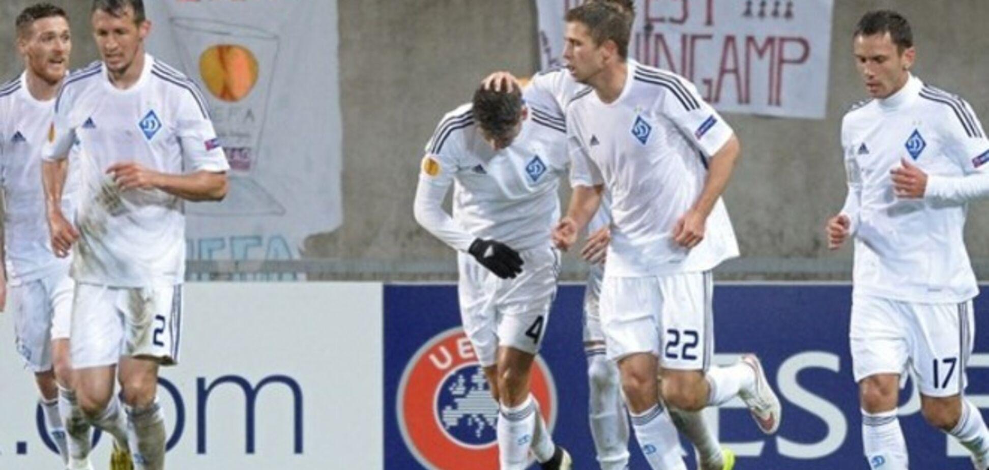 'Динамо' повторило найгірший показник Ліги Європи